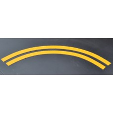 Pedal Path Curved Stripe