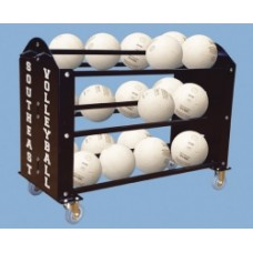 Ball Hog Mega Duty Ball Carrier Holds 24 Basketball or 30 Volleyball