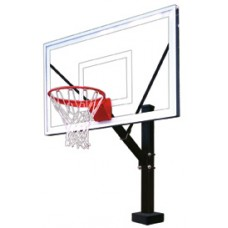 Hydro Sport II Fixed Height Basketball System