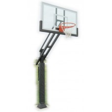 Triple Threat Adjustable Basketball System 36x54