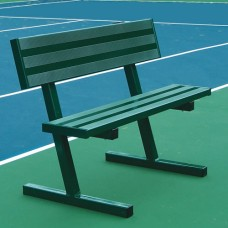4 foot Side Court Tennis Bench