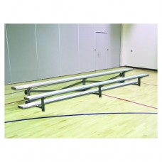 2 Row Bleacher 27 foot Preferred Series Tip and Roll