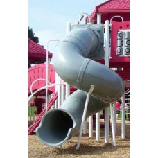 Spiral Tube Slide 24 inch diameter 72 inch deck 360 Degree