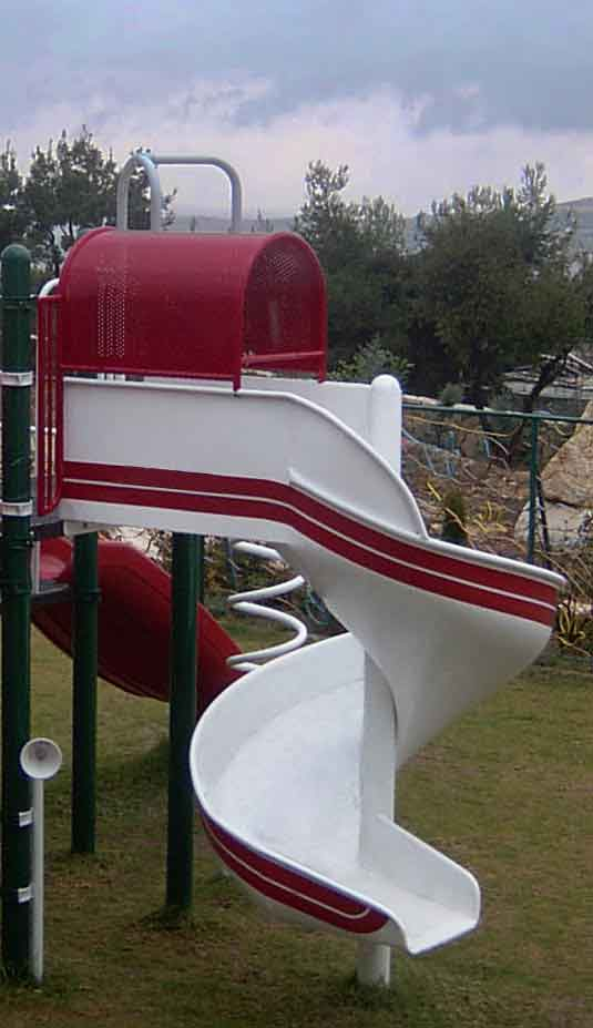 spiral slide in bethlehem